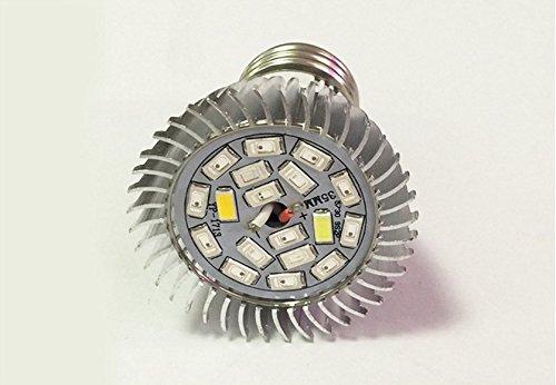 18W E14 LED Pflanze Spotlight Innengewächshäuser Fleischige Blumen Beleuchtung wachsen Lichter Gewächshaus [Energieklasse A++]