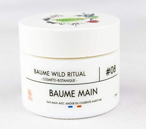 Mademoiselle Botanique - Baume Main Bio – Hydratant Cicatrisant et Contre Le Dessèchement – Cosmétique 100% Naturelle Fabrication Française