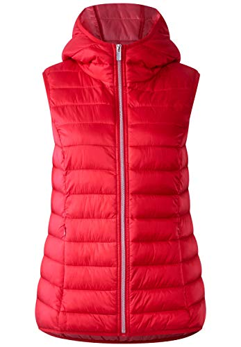 Street One Damen 220074 Outdoor Weste, Rot (Real Red 11360), 36