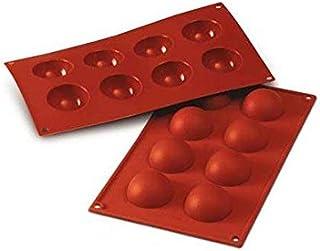 Silikomart Mould Half-Sphere, Orange, 50mm