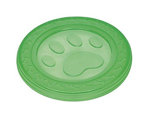 "Nobby TPR Fly-Disc ""Paw"" grün 22 cm"
