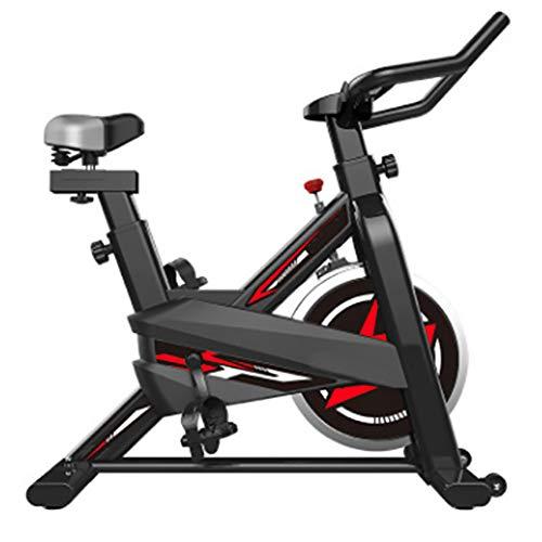 FGONG Vélo d'appartement Vélo d'intérieur Studio Cycles Machines d'exercice Guidons réglables et siège à Bord L'ordinateur lit la Vitesse, la Distance, Le Temps et Les Calories