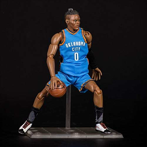 LRWTY NBA Zahlen: NBA Series 0 Russell Westbrook Oklahoma City Thunder Limited Edition Sammler Action Figure 22cm POP
