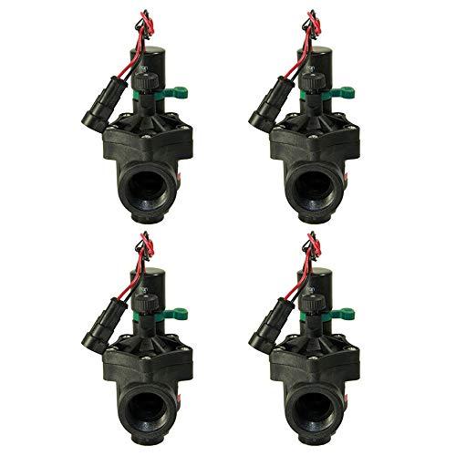 "Electroválvula Rain RN 150 9V 1"" con regulador de caudal (Pack x 4)"