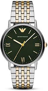 Emporio Armani Analog Green Dial Men's Watch-AR11228
