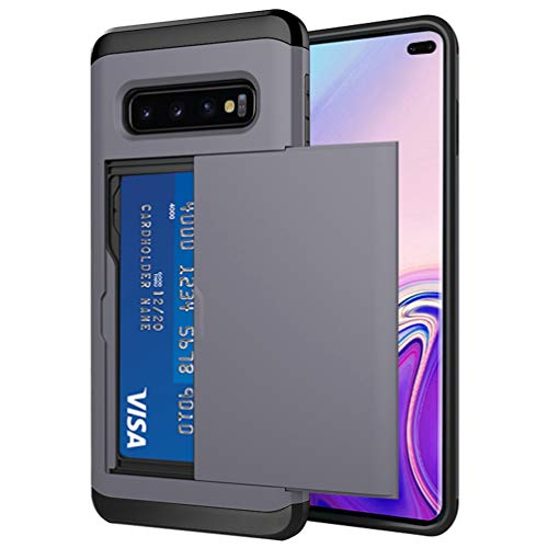 shockproof protective wallet case for s10+