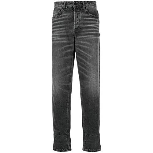 MARCELO BURLON Luxury Fashion Uomo CMYA017E19B340981001 Nero Jeans  