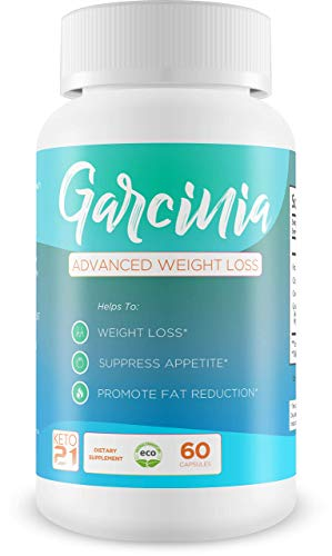 Garcinia Advanced Weight Loss - Help to Suppress Appetite - Help to Lose Weight - Promote Fat Reduction - Powerful Potent and Pure Garcinia Cambogia!