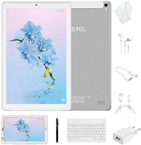 tablet 3gb ram Tablet 10 Pollici con Wifi Offerte Tablet PC 4G LTE Dual SIM /WiFi tablet Android 8.0 con 3GB di RAM e 32GB ROM Batteria 8000mAh-(Sblocco Facciale