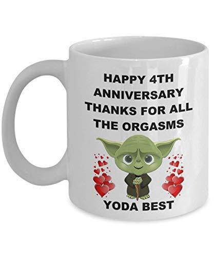4to 4 años Regalos personalizados de aniversario de boda para el esposo...