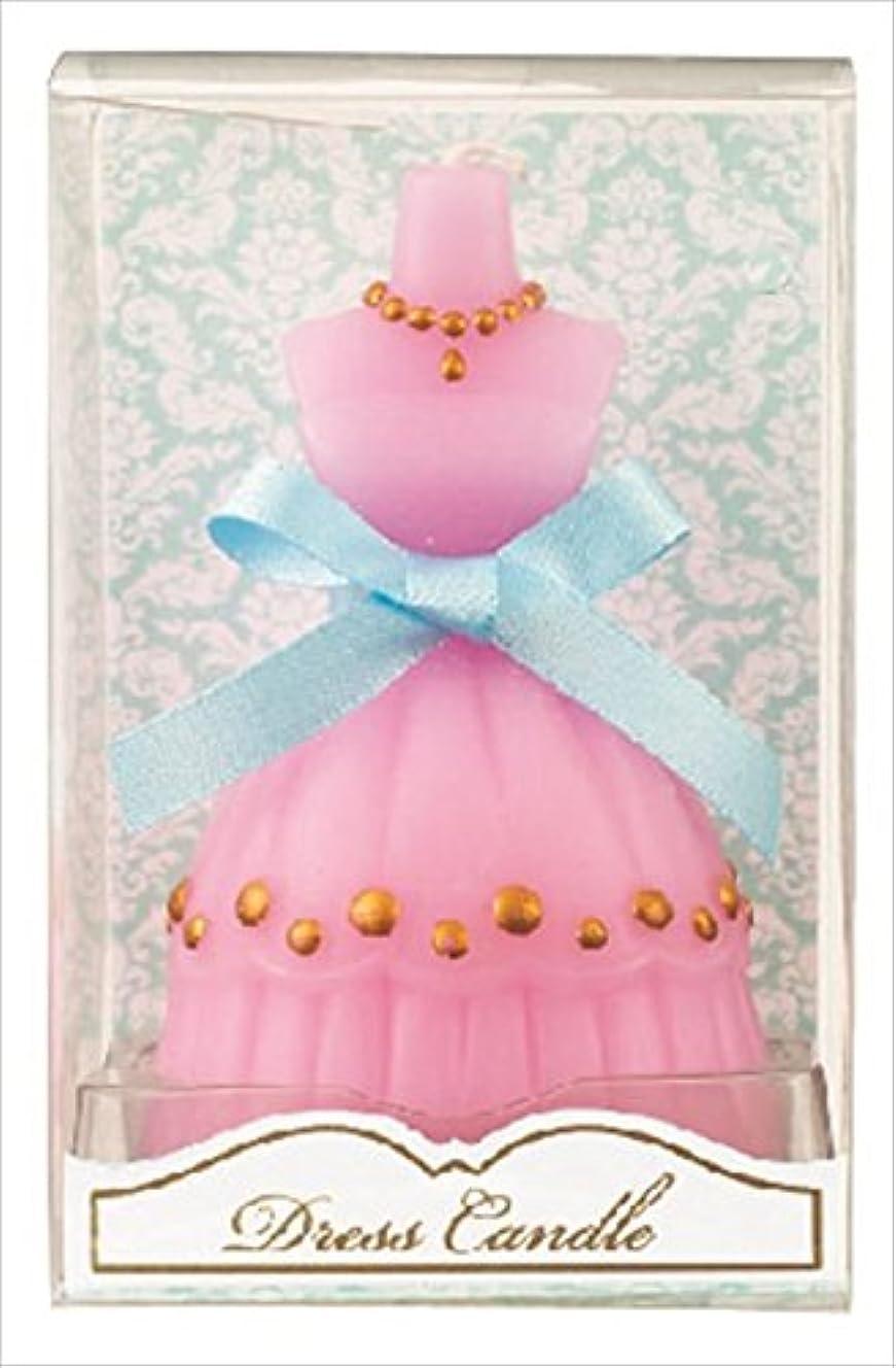 ねばねば不規則性飢饉kameyama candle(カメヤマキャンドル) ドレスキャンドル 「 ピンク 」 キャンドル 60x54x98mm (A4460500PK)