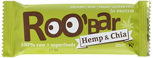 Roobar hemp protein 10 Stück (10x 30g)