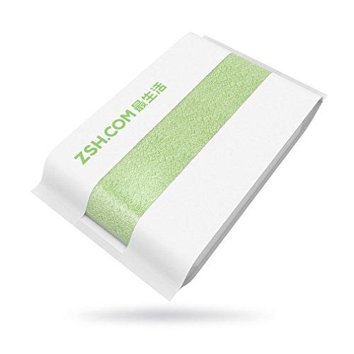YLWL Toalla de baño ZSH Toalla antibacteriana Altamente Absorbente con Paquete Sellado Verde