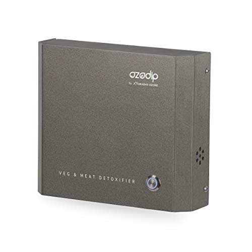 OZODIP 2SD Mini generador de ozono Esterilizador Purificador de Aire de ozono Máquina de desinfección de ozono para Eliminar olores y pesticidas domésticos,Limpiar Verduras, Frutas, Carnes, Pescado