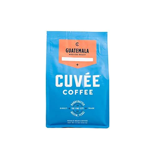 Cuvée Whole Bean Coffee, Guatemala Single Origin Medium Roast, Direct Trade, 12 ounce