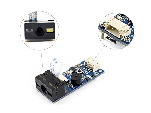 Waveshare Barcode Scanner Module 1D/2D Codes Reader with USB and UART Interface barcode scanner usb