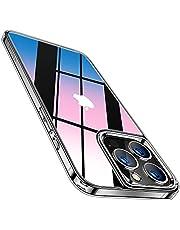 TORRAS 強化ガラス iPhone 13 Pro 用 ケース 超透明 日本9H旭硝子 薄型 黄変なし 超耐衝撃 TPUバンパー ストラップホール付き レンズ保護 2021年6.1インチ アイフォン 13 Pro 用 カバー ダイヤクリア