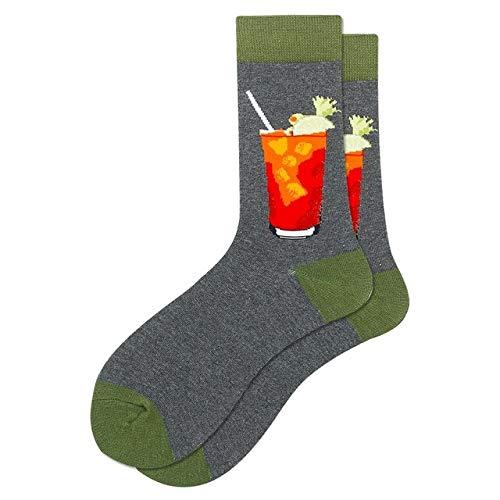 Calcetines Coloridos para Hombre, Colorido, Feliz, Divertido, símbolo Internacional de ajedrez, fórmula geométrica, calcetín de algodón, a5-One Size
