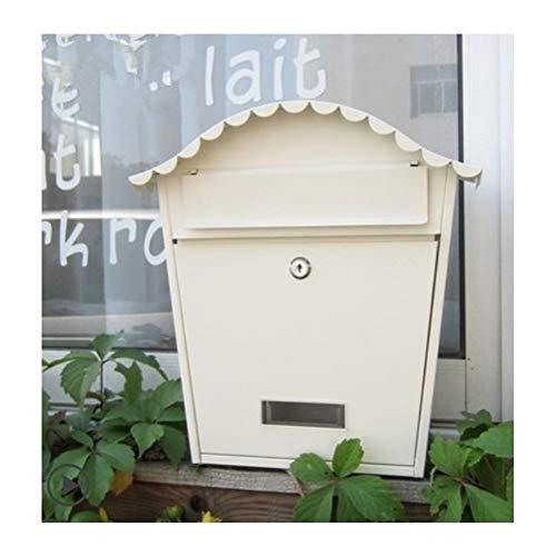 NYDZDM brievenbus retroletters voor buiten, waterdicht, dik