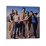 SDFASF Backstreet Boys Poster Dekorative Malerei Leinwand