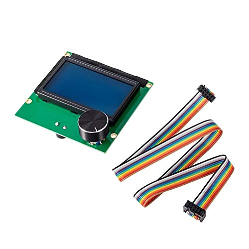 Yunobi 1,2 m Stampante 3D 10 Pin 10 Way F/F Connettore IDC Flat Rainbow Ribbon Cavo Cavo Cavo Filo con Presa Accessori per Ender 3 Ender 3 Pro