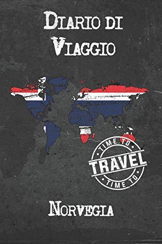 Diario di Viaggio Norvegia: 6x9 Diario di viaggio I Taccuino con liste di controllo da compilare I Un regalo perfetto per il tuo viaggio in Norvegia e per ogni viaggiatore