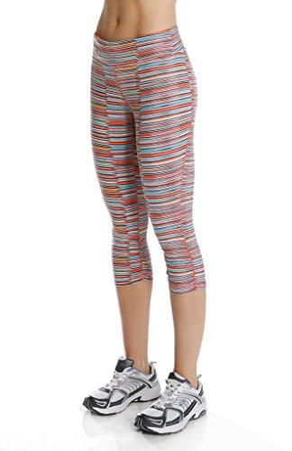 Soybu Femme Allegro Yoga Capri Pants, Femme, Motion, 2X