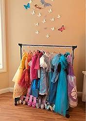 top 10 kids costume rack Baby Hanger Boottique – Baby Wardrobe Organizer – Baby Velvet Hanger with 10 (… Hanger
