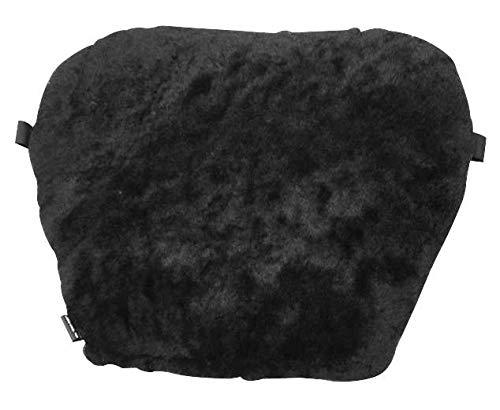 "Pro Pad Front Sheepskin Gel Seat Pad Large 16""Wx12""L - Black 6401"