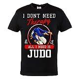 Rule Out Camiseta Prenda de Lucha All i Need Is ' Judo. Entrenamiento. Gimnasio Ropa...
