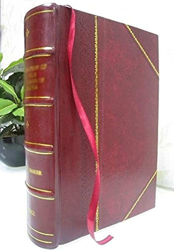 The Law papers; 1907 [Leather Bound]