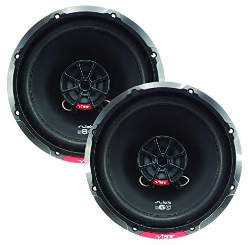 "VIBE Slick 6.5"" inch Coaxial speaker - 80/240 W, Bl"