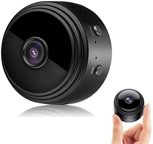 Mini Camara Oculta,Micro Camaras 1080P HD WiFi Vigilancia Grabadora de Video Portátil con IR Visión Nocturna Detector de Movimiento,Camara Seguridad Pequeña Inalambrica Interior/Exterior