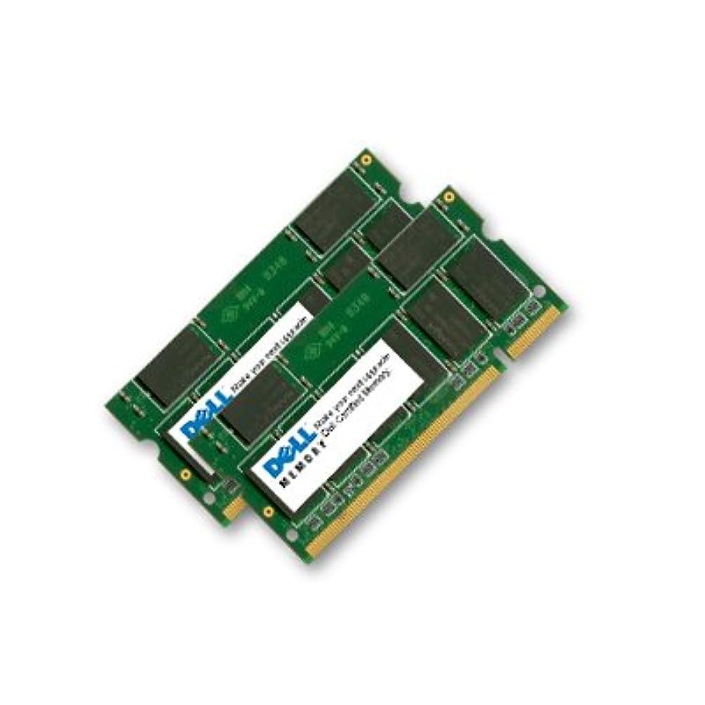 Dell NEW MADE GENUINE ORIGINAL 4GB (2x2GB) New memory for Latitude D620 D630 D820 DDR2