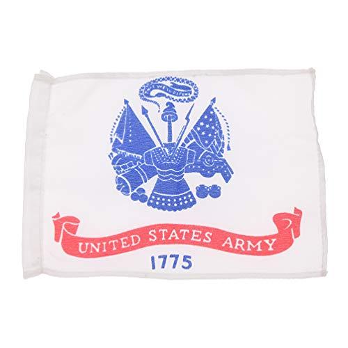 Kesheng Amerikanisch Staatsflagge Armeefahne für 1:6 Soldat Figur Zubehör Dekoration