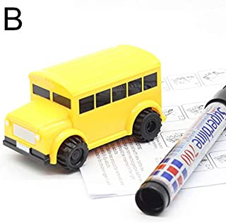Alexsix Christmas Magic Pen Inductive Car Truck, Follow Any Draw Line Pen Toy Engineering Kids Gifts, with Limitless Ways to Play! Best Toddler Toy Mini Magic Pen Inductive Fangle Kids Car Follow
