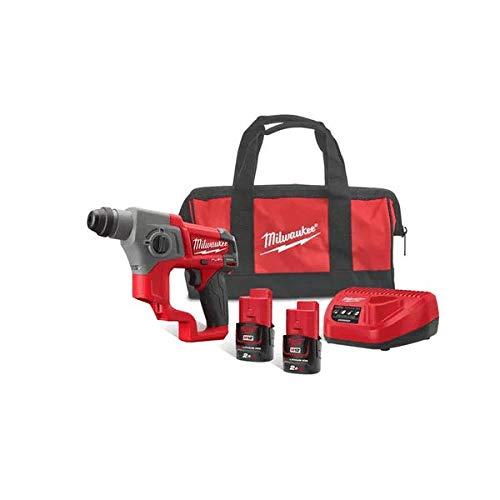 Milwaukee M12CH-202B 12v Fuel Sub Compact Hammer Drill Kit
