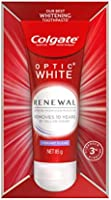 Colgate Optic White Renewal Teeth Whitening Toothpaste Hydrogen Peroxide Enamel Safe
