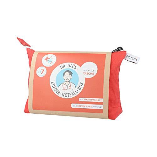 Kindernotfallbox-Tasche zur Ersten Hilfe am Kind, 1 St