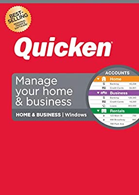 Quicken Home & Business Personal Finance – Track personal and business transactions all in one place – 1-Year Subscription (Windows) -Save 40% Off at checkout when purchased from Quicken Inc