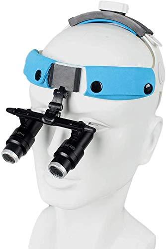 J & J 4X Vergrößerungsglas Binocular Stirnband Lupen Chirurgie Medizinische Lupe Dental Surgical, Stomatologie, orthopädische
