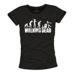 MAKAYA Camiseta Walking Dead para Mujer