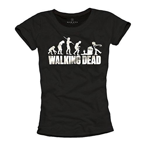 Camiseta Walking Dead Mujer