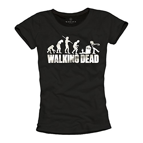 Convención Imposible Australia  🥇 camisetas the walking dead para mujer | Shirtcity