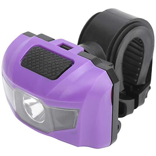 Pinza De Bicicleta A Prueba De Agua A Prueba De Agua Luz Faro De La Luz De La Luz Trasera Al Aire Libre para La Noche Púrpura