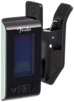 Fender Original Clip-On Tuner for Electric Guitar, Bass Guitar, Mandolin, Ukulele, Violin, and Banjo