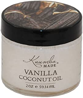 Kuumba Made Vanilla Coconut Oil 2 ounces