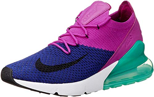 Nike Mens Air Max 270 Flyknit Workout Fitness Sneakers Multi 11.5 Medium (D)