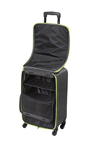 Koffer Trolley Gepäck Leichtgewicht Stoffkoffer Schranksystem Ordnung