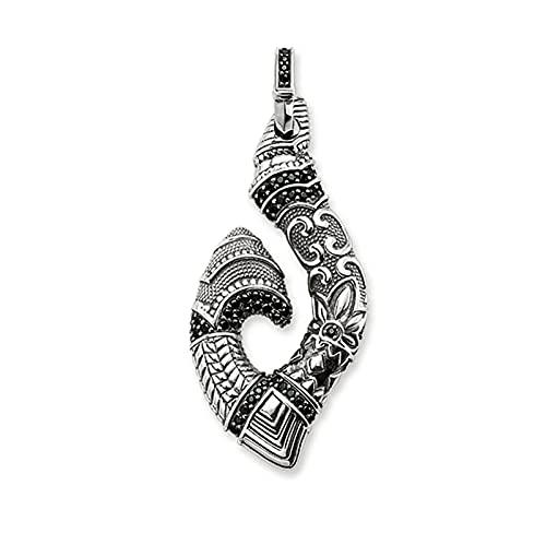 OYZY Hook Maori Colgante, Joyería Vintage Europa 925 Colgantes De Plata Esterlina Bijoux Regalo For Hombres Hombres